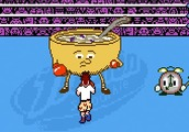 Boxing-game-against-breakfast-foods