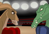 Boxing-game-with-a-kangaroo