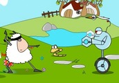 Thai-boxing-game-with-a-sheep